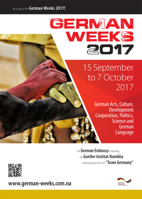 German Weeks 2107 poster