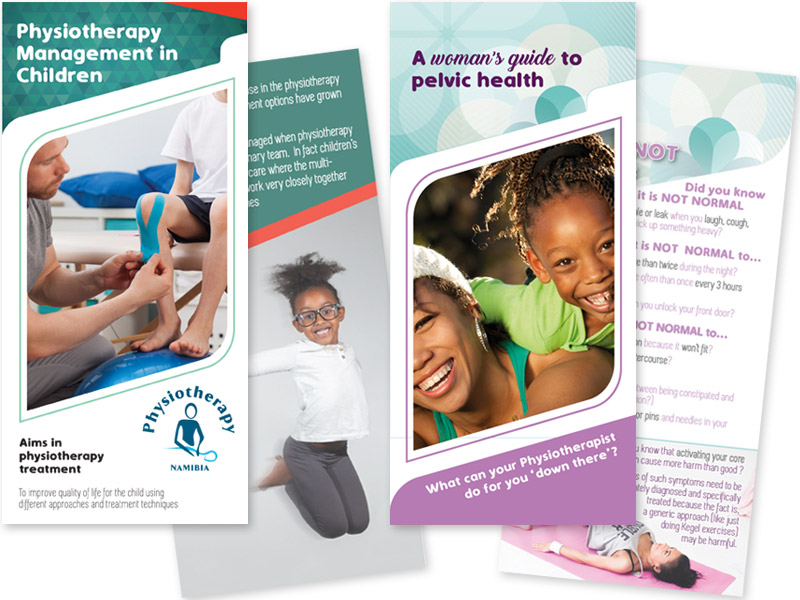 PhysioTherapy: Female and Children health brochures