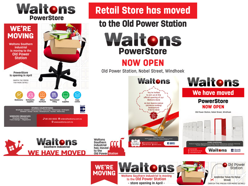 Waltons office move campaign